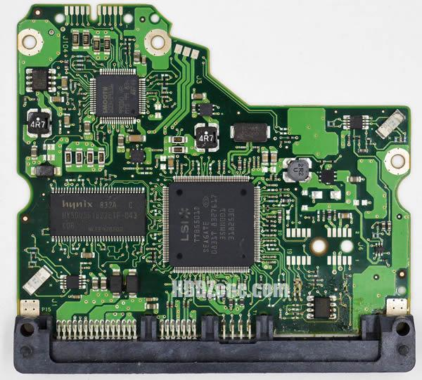 100466824 REV C carte PCB disque dur seagate