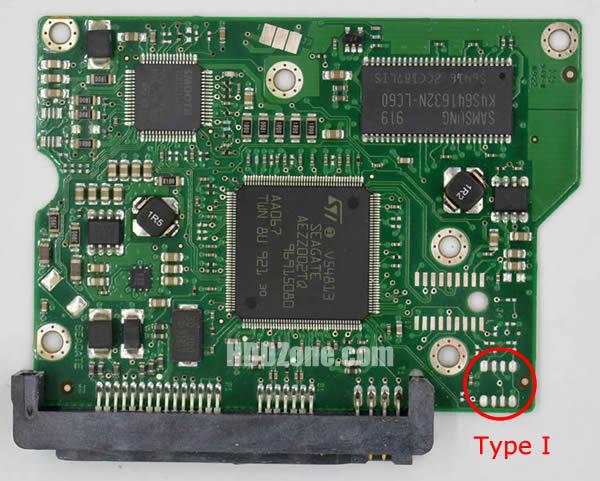 100468303 REV A carte PCB disque dur seagate