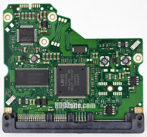 100475720 Festplatten Elektronik Controller Platine Seagate PCB