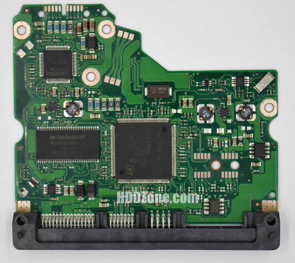 100475720 REV A carte PCB disque dur seagate