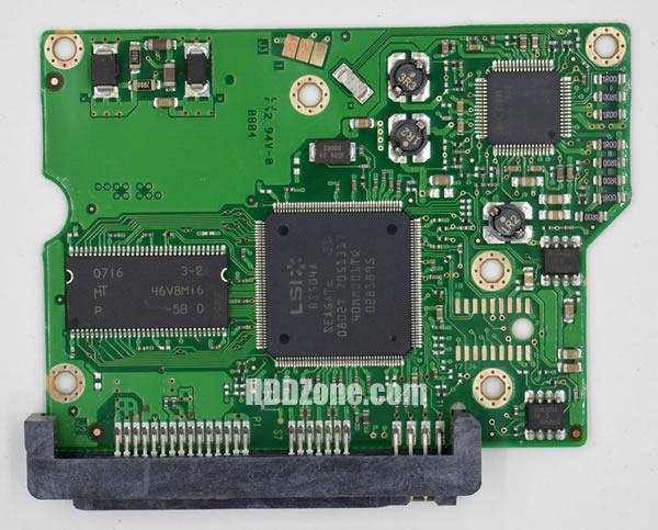 100496208 REV A carte PCB disque dur seagate