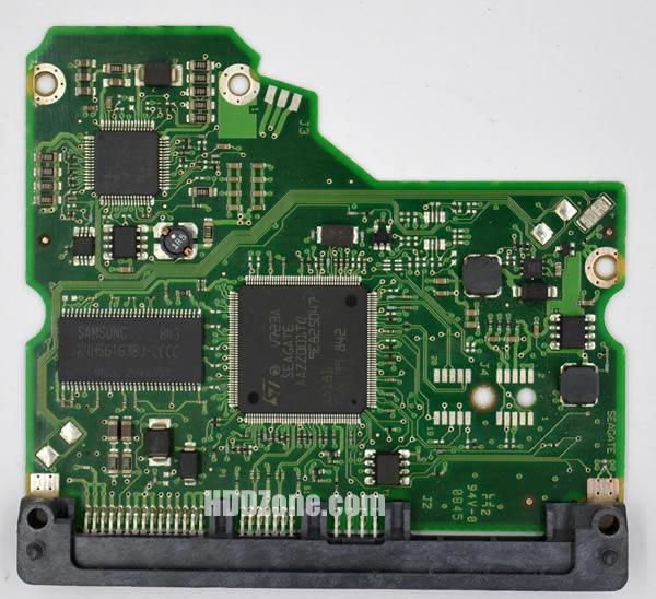 100512588 REV A Seagate PCB Circuit Board Hard Drive Logic Controller Board