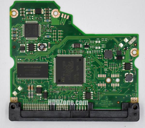 100530756 REV A carte PCB disque dur seagate