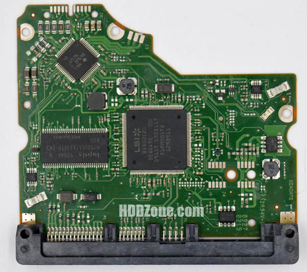 ST31000520AS Seagate PCB 100535537 REV A