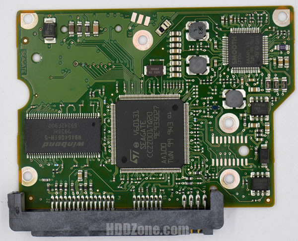 ST3320311CS Seagate PCB 100535704 REV B