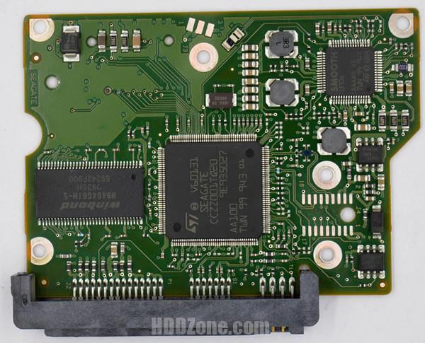 ST3500410SV Seagate PCB 100535704 REV B