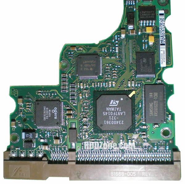 ST320011A Seagate PCB 100151017