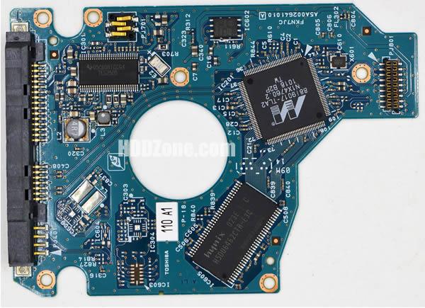 MK1665GSX Toshiba PCB G002641A