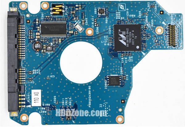 MK1655GSXF Toshiba PCB G002439-0A