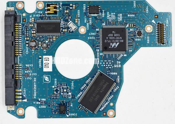 MK1656GSYF Toshiba PCB G002587-0A