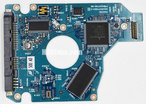 MK50650SXN Toshiba PCB G002706A