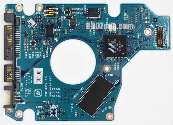 MK1637GSX Toshiba PCB G5B001851000-A