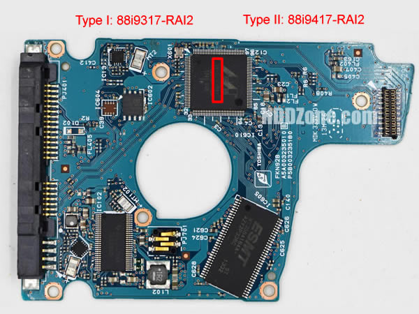 Toshiba PCB G003235C