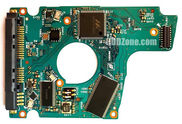 Toshiba SATA 2.5 PCB G003235C MQ01ABF050 AB10//AM0G4H HDKCB16S3A02 S