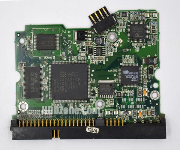 2060-001062-004 Festplatten Elektronik Controller Platine WD PCB