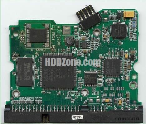 2060-001092-006 PCB circuit imprimé sur Disque Dur western digital