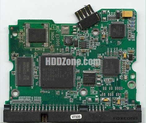 WD400AW WD PCB 2060-001092-007
