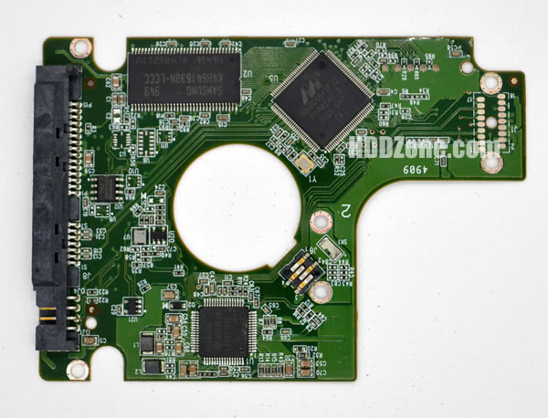 WD2500BEVT WD PCB 2060-771672-001 REV P1