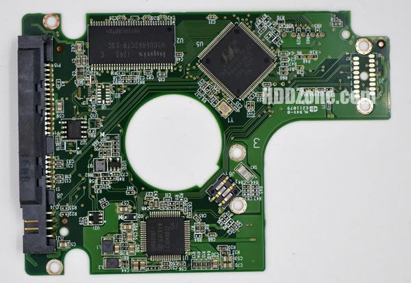 2060-771672-004 Festplatten Elektronik Controller Platine WD PCB