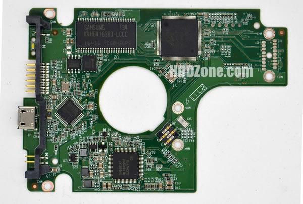 WD2500BMVV WD PCB 2060-771754-000 REV A / REV P1