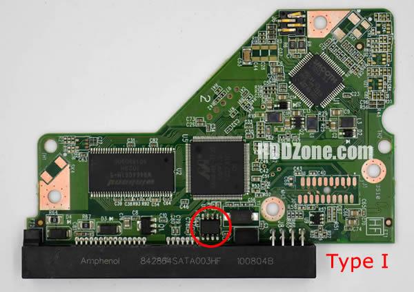 2060-771590-001 Festplatten Elektronik Controller Platine WD PCB