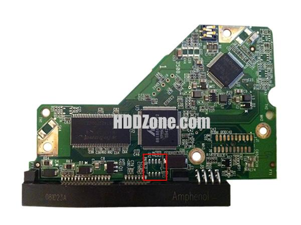 WD2500AAJS WD PCB 2060-771590-001 REV A / REV P2