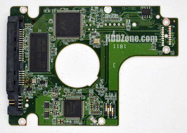 WD5000BEKT WD PCB 2060-771714-002