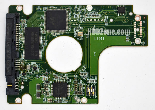 WD5000BMVV WD PCB 2060-771714-002