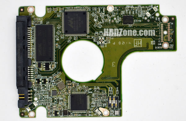 2060-771823-000 REV A carte PCB disque dur western digital