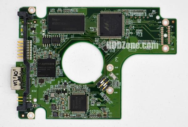 2060-771737-000 Festplatten Elektronik Controller Platine WD PCB