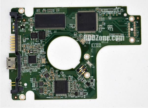 2060-771817-001 Festplatten Elektronik Controller Platine WD PCB