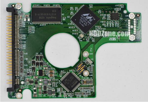 2060-701281-001 Festplatten Elektronik Controller Platine WD PCB