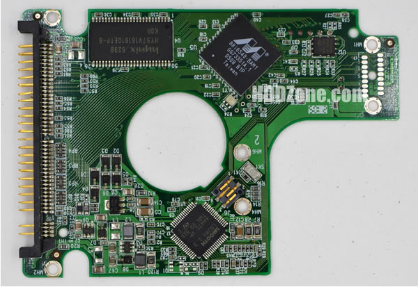WD400UE WD PCB 2060-701281-001