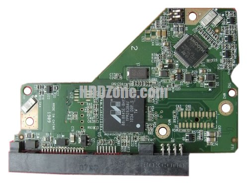 2060-771591-000 Festplatten Elektronik Controller Platine WD PCB