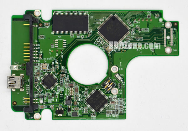 2060-701615-003 Festplatten Elektronik Controller Platine WD PCB