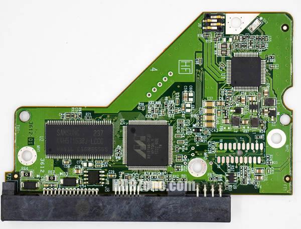 WD20EARX WD PCB 2060-771698-004 REV A / REV P1 / REV P2