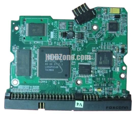 2060-001113-001 PCB circuit imprimé sur Disque Dur western digital
