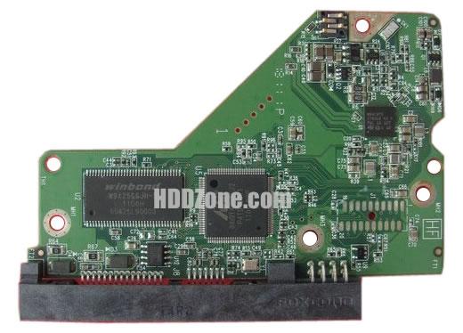 2060-771818-000 Festplatten Elektronik Controller Platine WD PCB