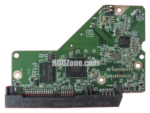 2060-771829-000 Festplatten Elektronik Controller Platine WD PCB