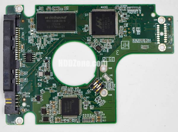2060-771692-006 Festplatten Elektronik Controller Platine WD PCB