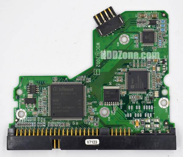 2060-001127-003 PCB circuit imprimé sur Disque Dur western digital