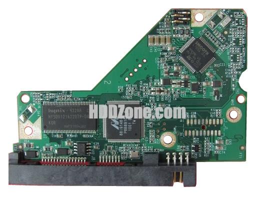 2060-701698-000 Festplatten Elektronik Controller Platine WD PCB