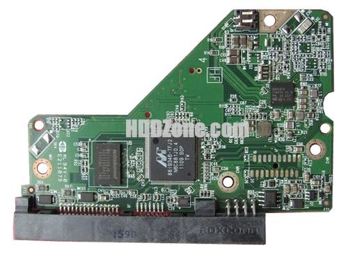 WD5000AZXD WD PCB 2060-771824-001