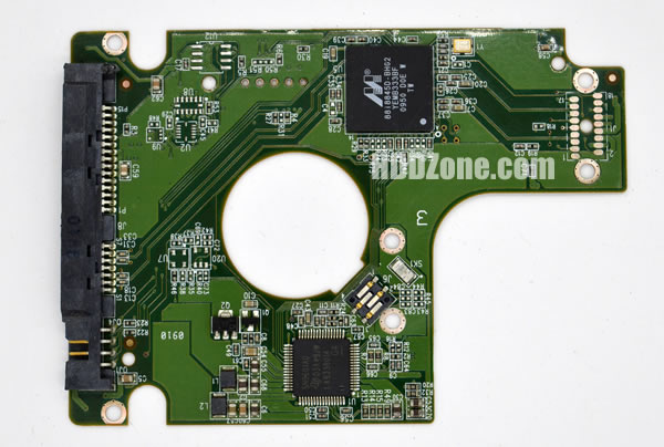 WD1600BEVT WD PCB 2060-771574-001