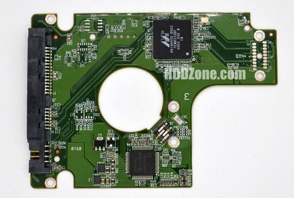 WD2500BEKT WD PCB 2060-771574-001