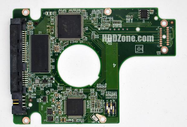 2060-771629-006 Festplatten Elektronik Controller Platine WD PCB