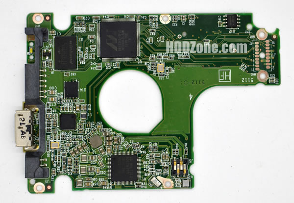 2060-771859-000 REV P1 carte PCB disque dur western digital