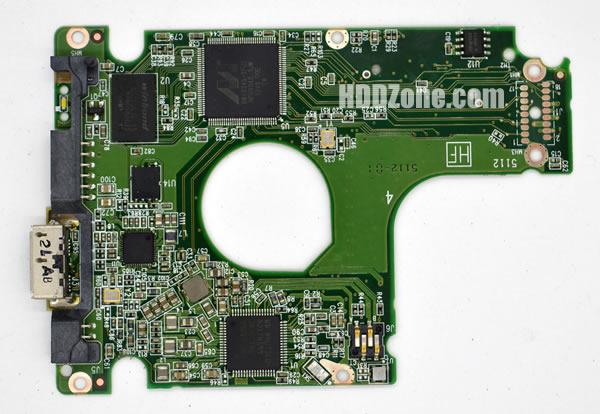 2060-771859-000 웨스턴 디지털 하드디스크 기판 WD PCB