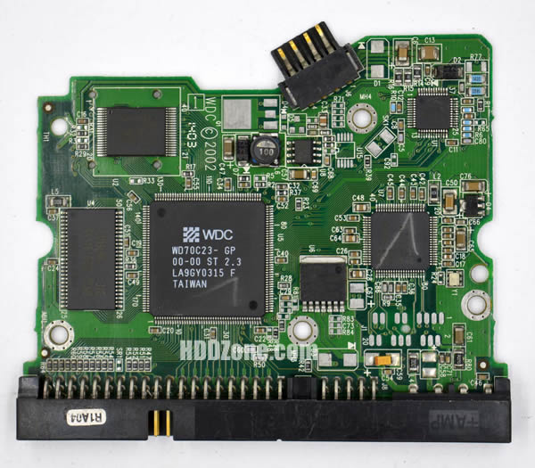2060-001129-001 Festplatten Elektronik Controller Platine WD PCB