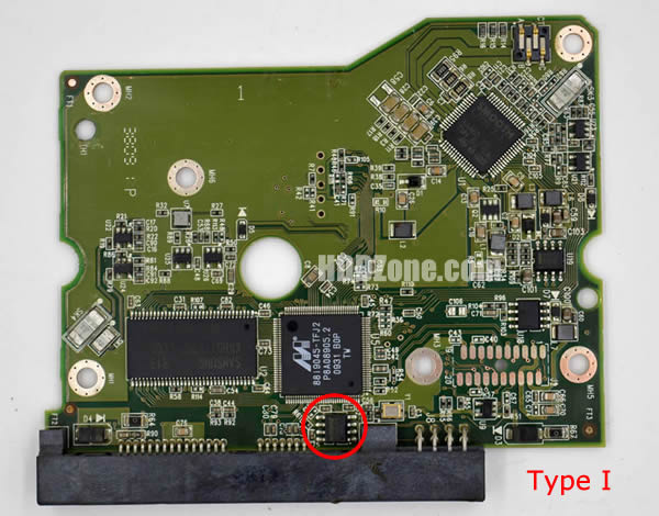 2060-771624-001 REV P1 carte PCB disque dur western digital